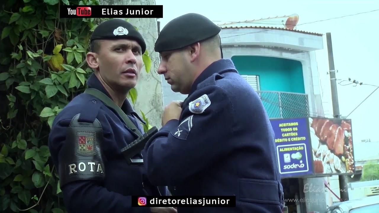Rota aborda indivíduo que tentou matar esposa a facadas Operação Policial - do diretor Elias Junior