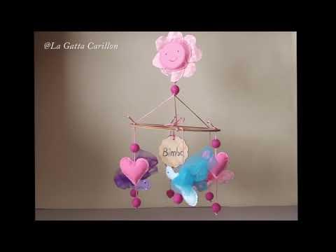 CARILLON PER CULLA FARFALLINE, carillon bimba (Melodia: Minuetto)