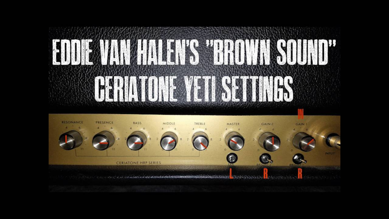 Getting the Eddie Van Halen