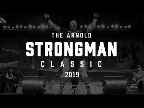 2019 Arnold Strongman Classic | Full Live Stream Day 2 | Event 3 - The Wheel of Pain