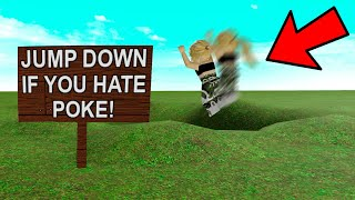 I Made A FAKE GAME To Catch HATERS.. IT WORKED! (Roblox)