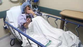 my mom is in the hospital... (not clickbait)