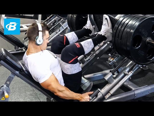 High Volume Leg Pump Workout | Abel Albonetti