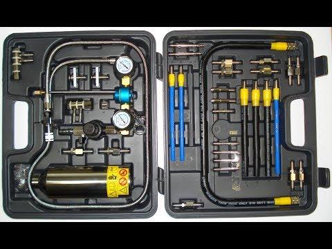 Оборудование для промывки форсунок без съёма