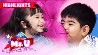 Gambar cover Mini Ms. U candidate winks at Yorme   It's Showtime Mini Miss U