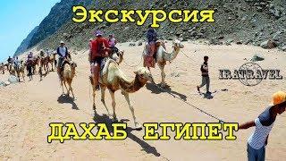 🇪🇬 ЕГИПЕТ Дахаб.  Экскурсии на верблюдах и Голубая дыра.Часть 1 HD