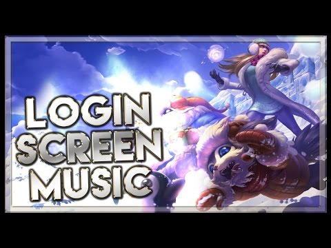 Christmas 2015 Login Screen with Music - League of Legends Music