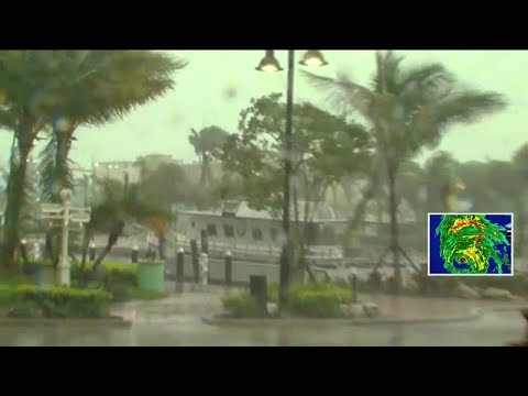 WPTV's Tory Dunnan live in Boynton Beach during Hurricane Irma