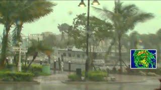 WPTV's Tory Dunnan live in Boynton Beach during Hurricane Irma
