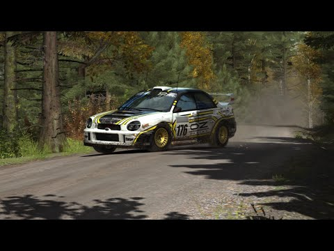 Dirt Rally - Finland - WORLD RECORD - Subaru Impreza WRC 2001 (Onboard And TV Camera)
