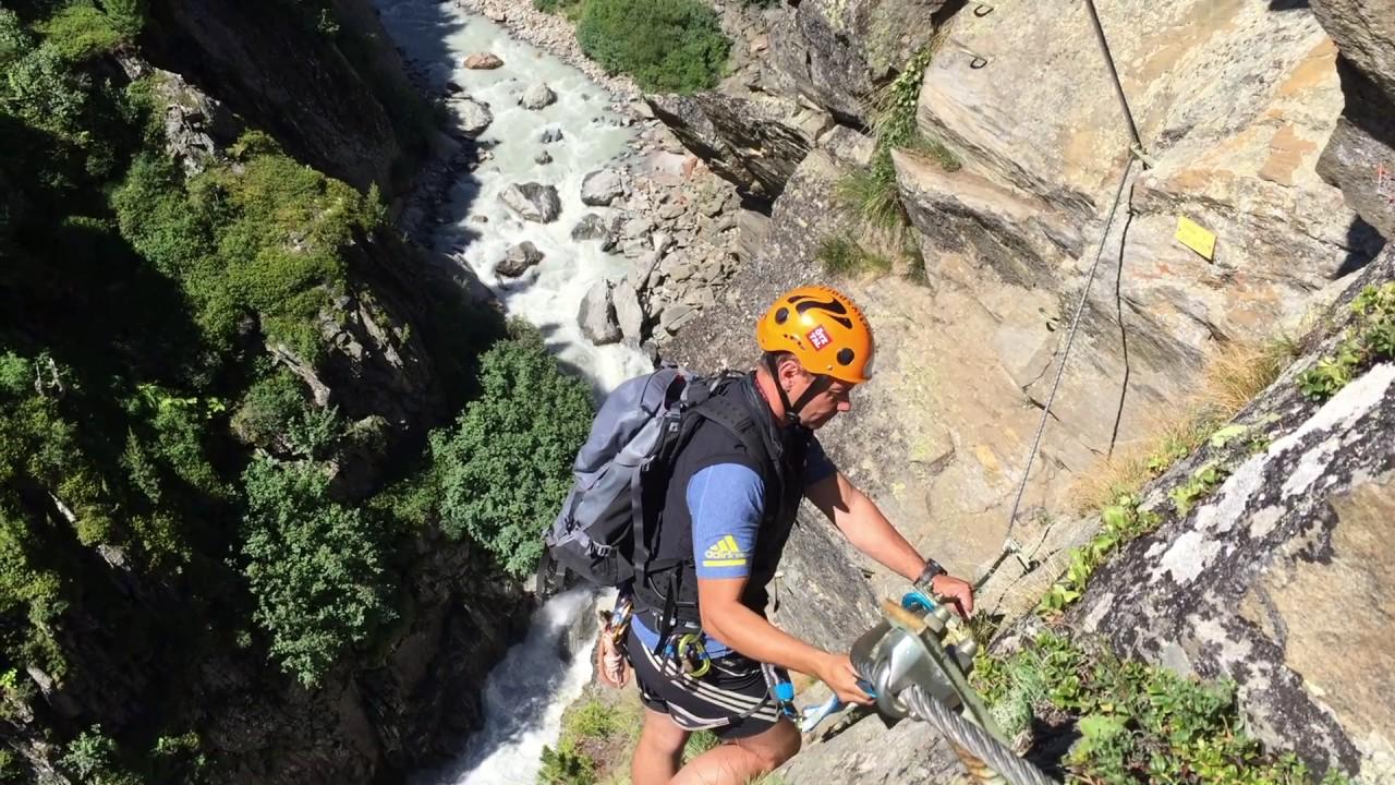 Klettersteig Zirbenwald : Kletterteig zirbenwald obergurgl hochgurgl sommer youtube