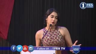 Saravanan Irukka Bayamaen  Success Meet   Regina Cassandra   1YES