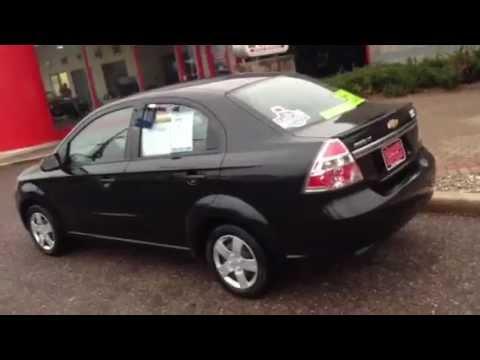 2010 Chevrolet Aveo Lt Black Hometown Motors Of Wausau Used Cars