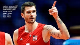 Matt Anderson - Best Opposite Spiker FIVB Mens WCH 2018