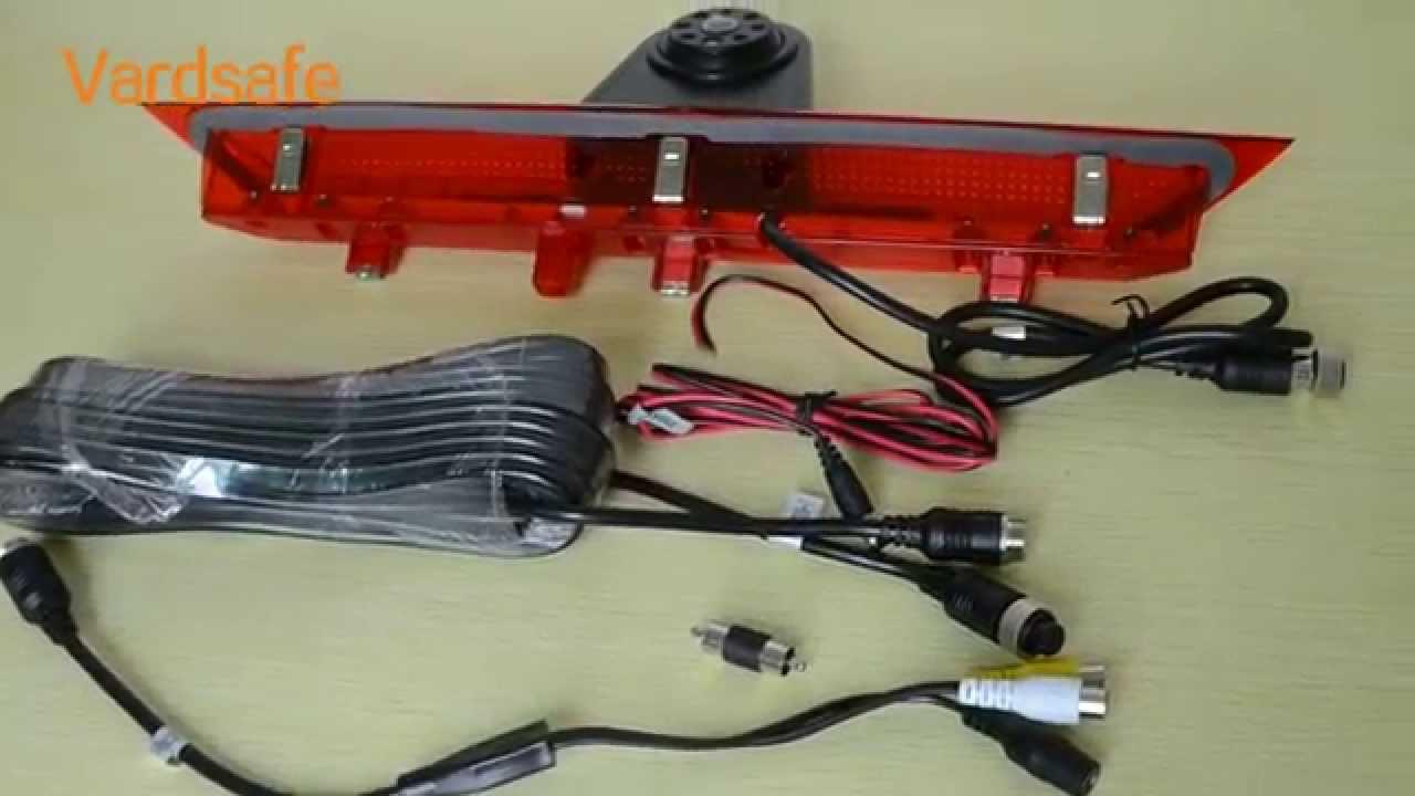 Vardsafe Rear View Brake Light Backup Camera For Ford