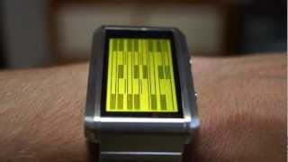 Kisai Upload LCD Watch Design with MicroSD Memory from Tokyoflash Japan