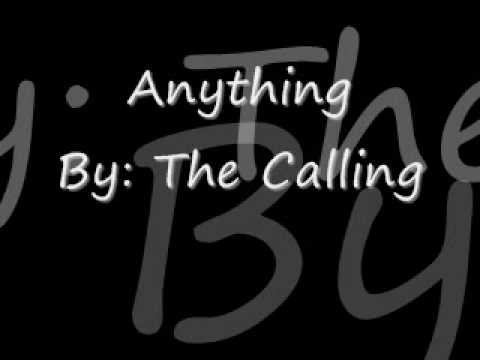 Anything  By The Calling (without Lyrics)
