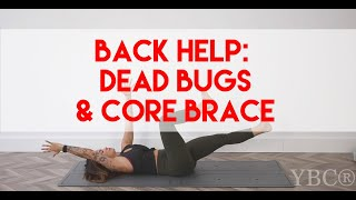 Dead Bugs and Core Bracing
