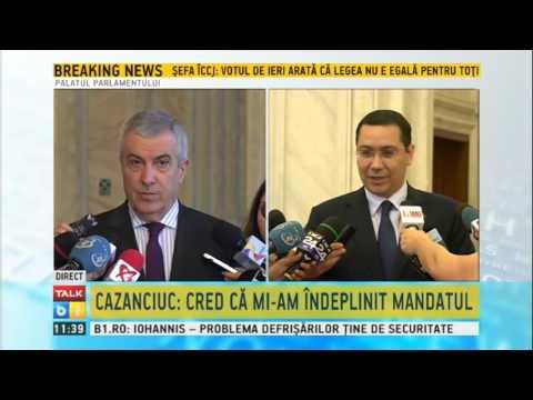 Tariceanu, despre declaratiile lui Iohannis