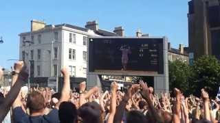 Festival Squares' Reaction to Andy Murray Winning Wimbledon 2013