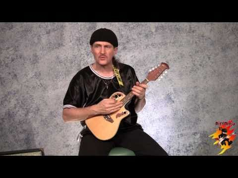 Mandolin Lessons #1/3 - For Guitar Players - YouTube