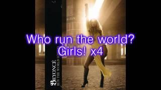 Beyoncé - Run The World (Girls) [Lyrics on Screen]