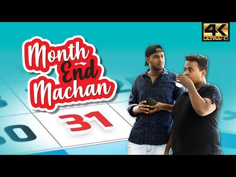 Month End Machan | Month End Rapsal | Tamil Comedy Video | Spoof | 4K