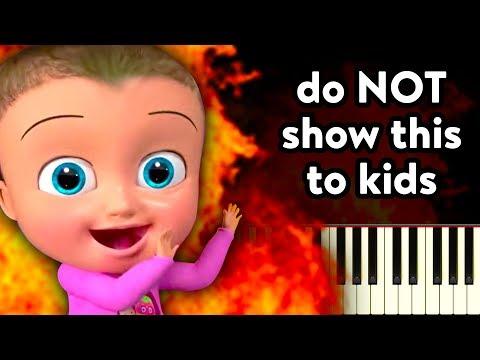 Show this video to your kids! (Johny Johny Yes Papa Piano Tutorial)