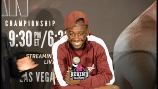 "TERENCE CRAWFORD IMMEDIATELY AFTER JEFF HORN FIGHT: ""I'D DO WELL AGAINST ERROL SPENCE JR"""