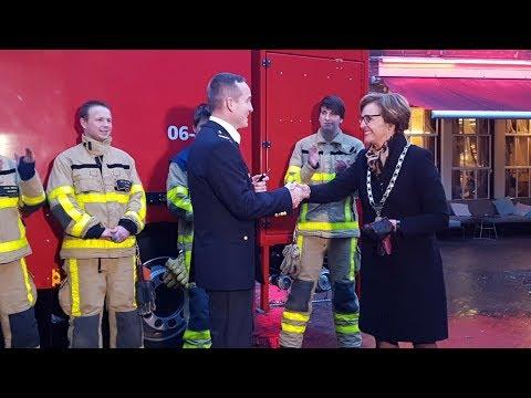 Nieuwe watertankwagen voor brandweer in Groenlo