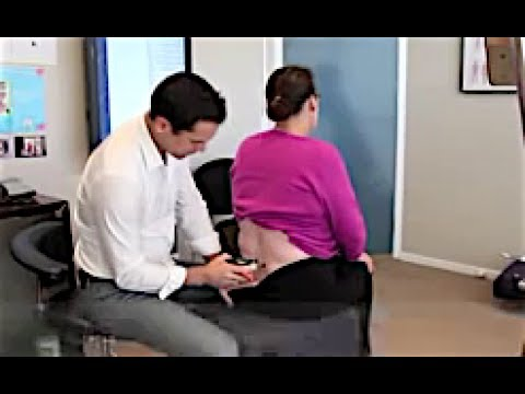 Dr. Ian - Painful SPINAL DISC Injury - CORRECTED by  Gonstead Chiropractic