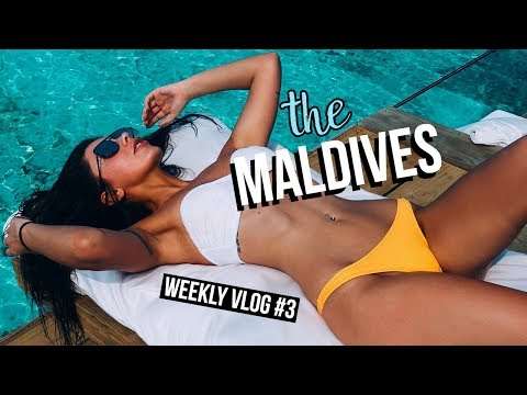 STAYING AT THE BEST LUXURY RESORT IN THE MALDIVES | WEEKLY VLOG #3