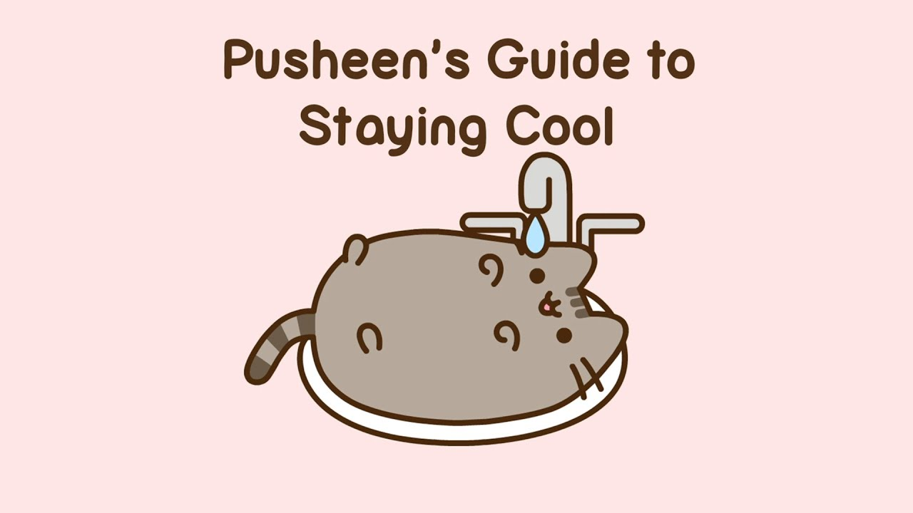 Pusheen's Guide to Staying Cool