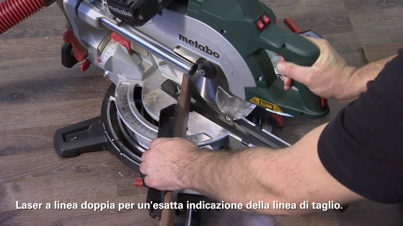 Metabo troncatrice kgsv 72 xact sym italian youtube for Troncatrice parkside