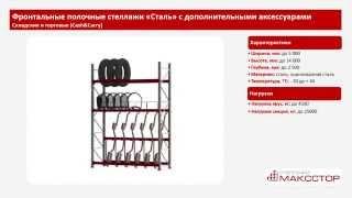 Полочные стеллажи для хранения и торговли(Металлические полочные стеллажи