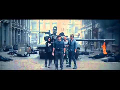 The Expendables 2 - Der einsame Wolf (Chuck Norris) | German/Deutsch