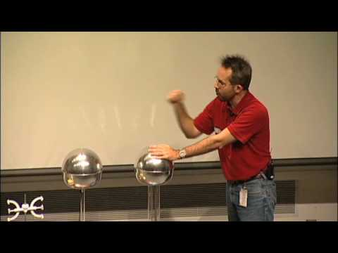 Should a Person Touch 200,000 Volts? A Van de Graaff generator experiment!
