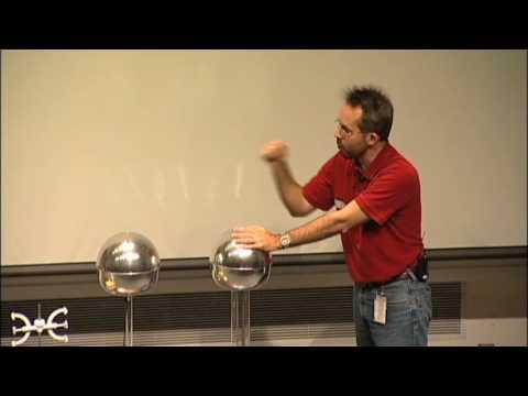 Should a Person Touch 200,000 Volts? A Van de Graaff generator experiment! #1
