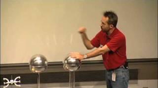 Should a Person Touch 200,000 Volts? A Van de Graaff generator experiment! thumbnail