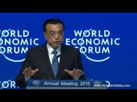 Chinese Premier Li Keqiang speaks on Chinas Economy