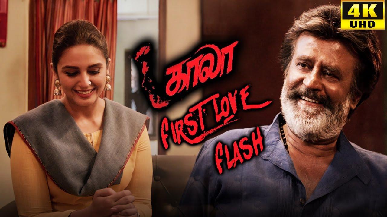 Download Kaala (Tamil) - First Love Flash!   Rajinikanth   Nana Patekar   Huma Qureshi   4K [with Subs]