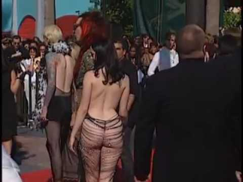 Marilyn Manson y Rose mcgowan MTV Music Video Awards 1998