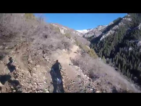 Stunning Mountain Bike Ride Into Coldwater Canyon, North Ogden Utah, Bonneville Shoreline Trail