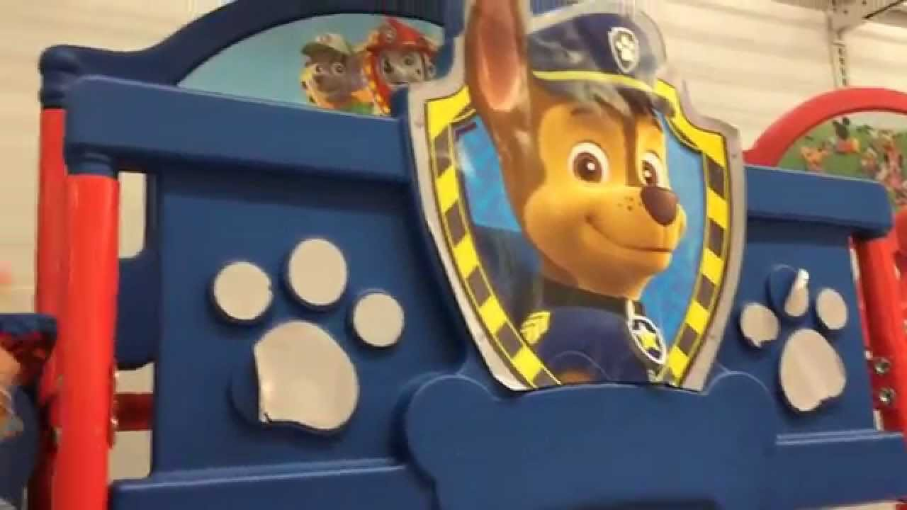 Paw Patrol Coach Sofa and Bed - YouTube