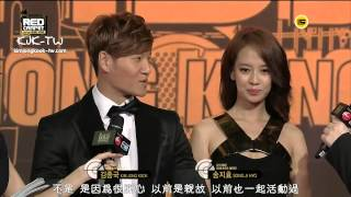 kjk tw 2013 mama red carpet 131122 金鐘國 宋智孝cut