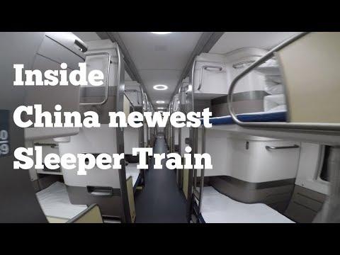 Capsule Sleeper Train from Beijing to Shanghai | D311 | Bullet Sleeper Train