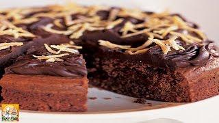 Dark Chocolate & Orange Cake