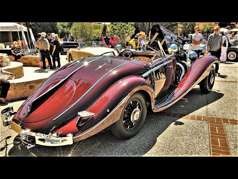 A Look Into The 1936 Mercedes-Benz 500K Special Roadster