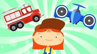 Car cartoons & car repair cartoons. Animation compilation. A family cartoon.