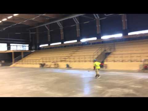 Ispremiär i Östersund Arena